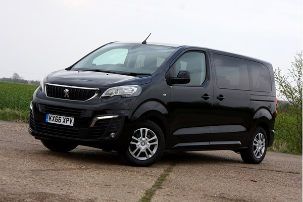 peugeot traveller mpv from 2016 used prices parkers. Black Bedroom Furniture Sets. Home Design Ideas
