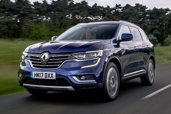 renault koleos suv from 2017 used prices parkers. Black Bedroom Furniture Sets. Home Design Ideas