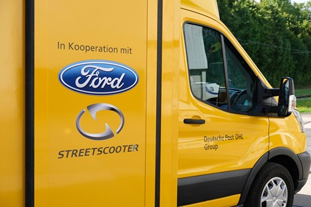 224569385454c2 StreetScooter Work XL - Ford Transit-based electric van for Deutsche Post  DHL