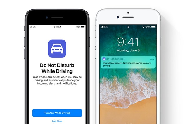 Apple launches Do Not Disturb While Driving mode for smartphones