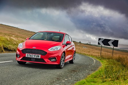 Ford Fiesta St Line X 1 0t Ecoboost 140ps Tested November 2017