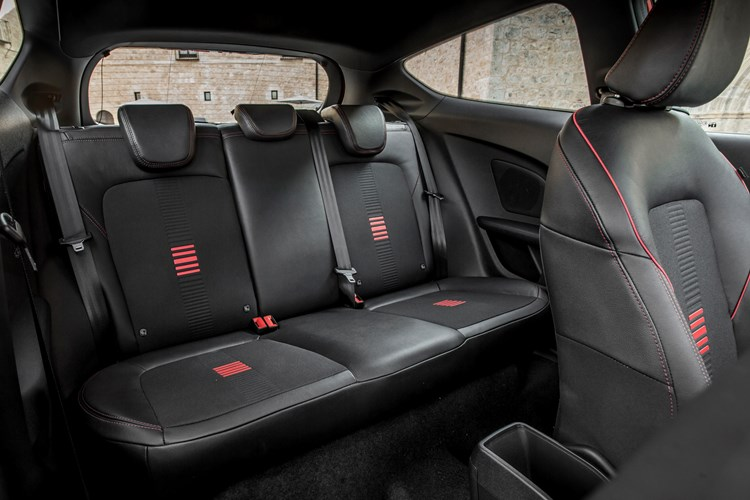 2017 Ford Fiesta ST Line Interior