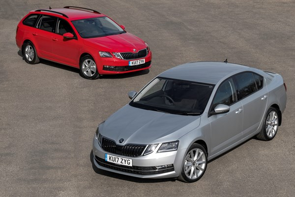 Skoda pushes petrol power into SE Technology company car ranges