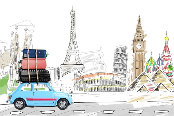 Taking your company car abroad? Make sure you have the right