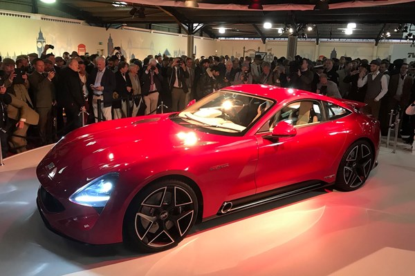 TVR Griffith: the new 2018 sports car