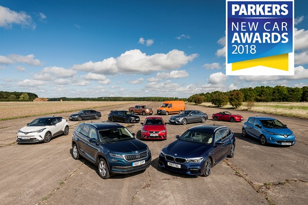 The Parkers New Car Awards 2018 shortisted finalists