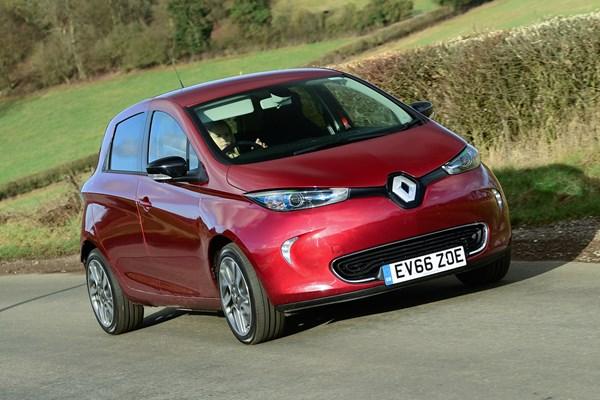 Renault's Zoe R90 Electric Car