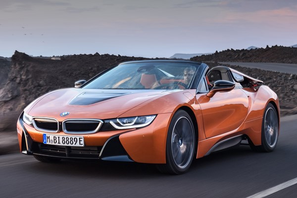 BMW i8 Roadster (18 on) - rated 4 out of 5