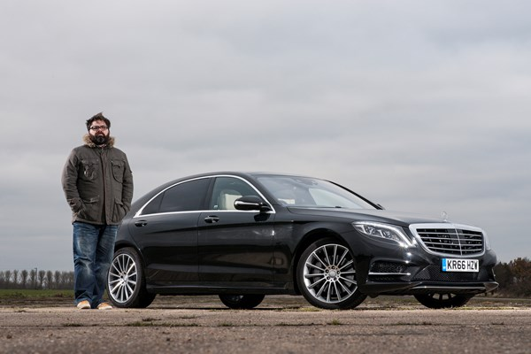 Mercedes-Benz S 350 d AMG Line L Saloon with Keith WR Jones