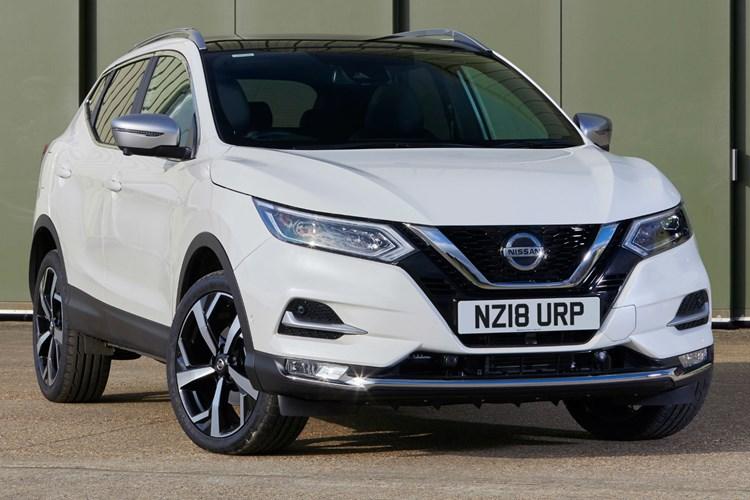 White 2018 Nissan Qashqai