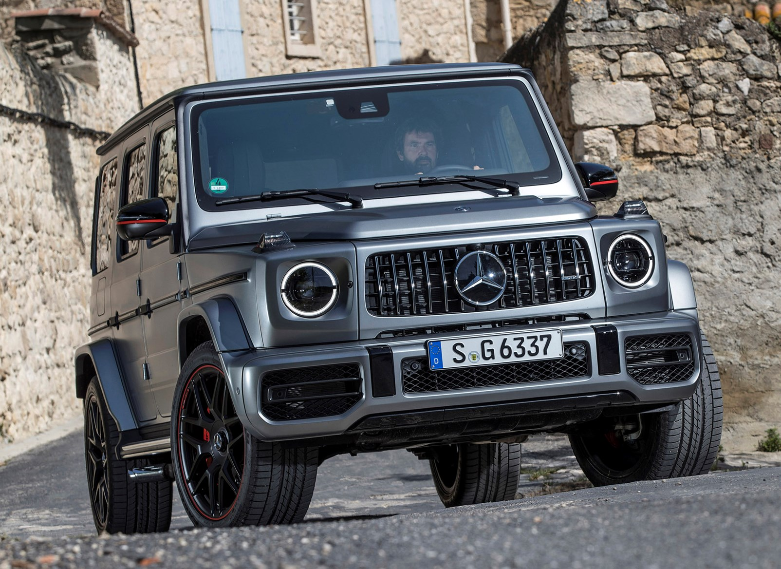 mercedes benz g class suv 2018 photos parkers. Black Bedroom Furniture Sets. Home Design Ideas