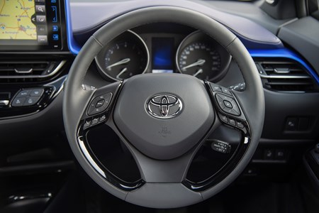 The Instrument Panel In Toyota C Hr Makes Driving Efficiently Easier