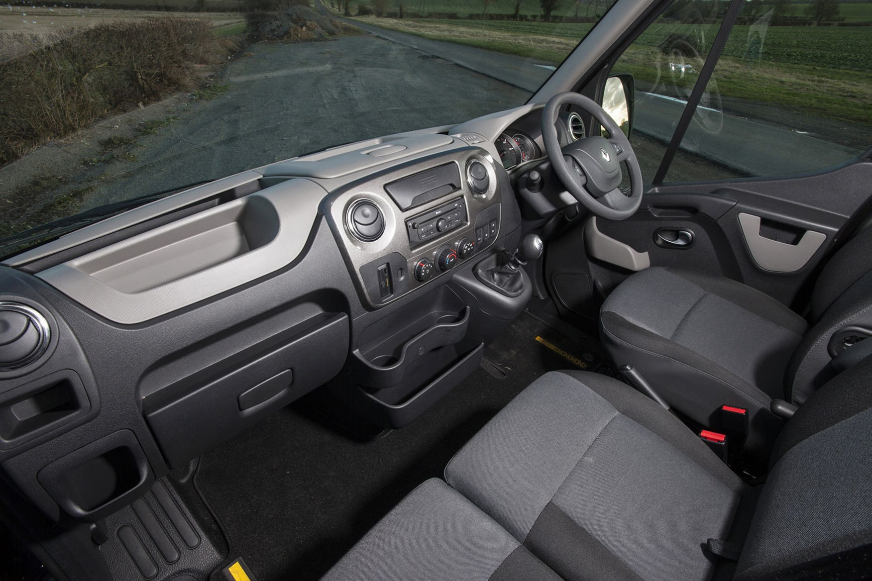 Renault Master Formula Edition review - cab interior