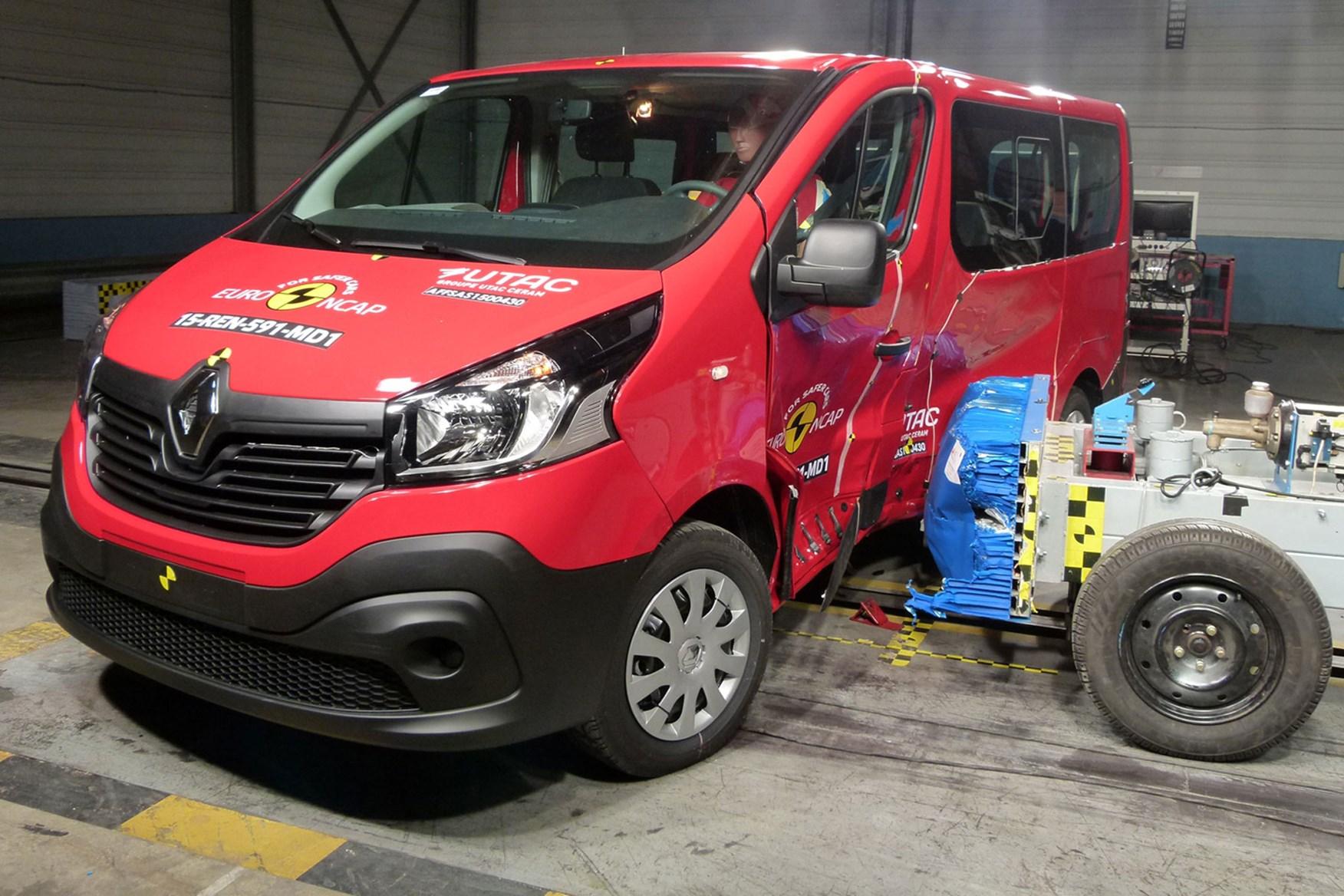 Renault Trafic crash test - Euro NCAP