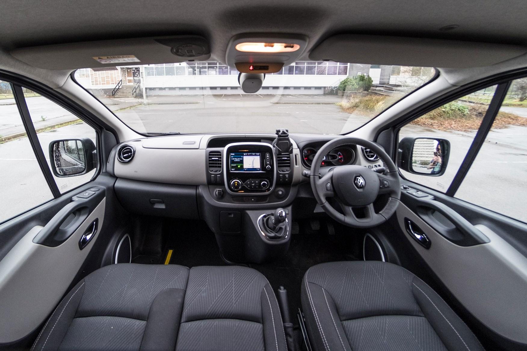 Renault Trafic Formula Edition review - cab interior