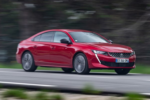 early drive review of the 2018 peugeot 508   parkers