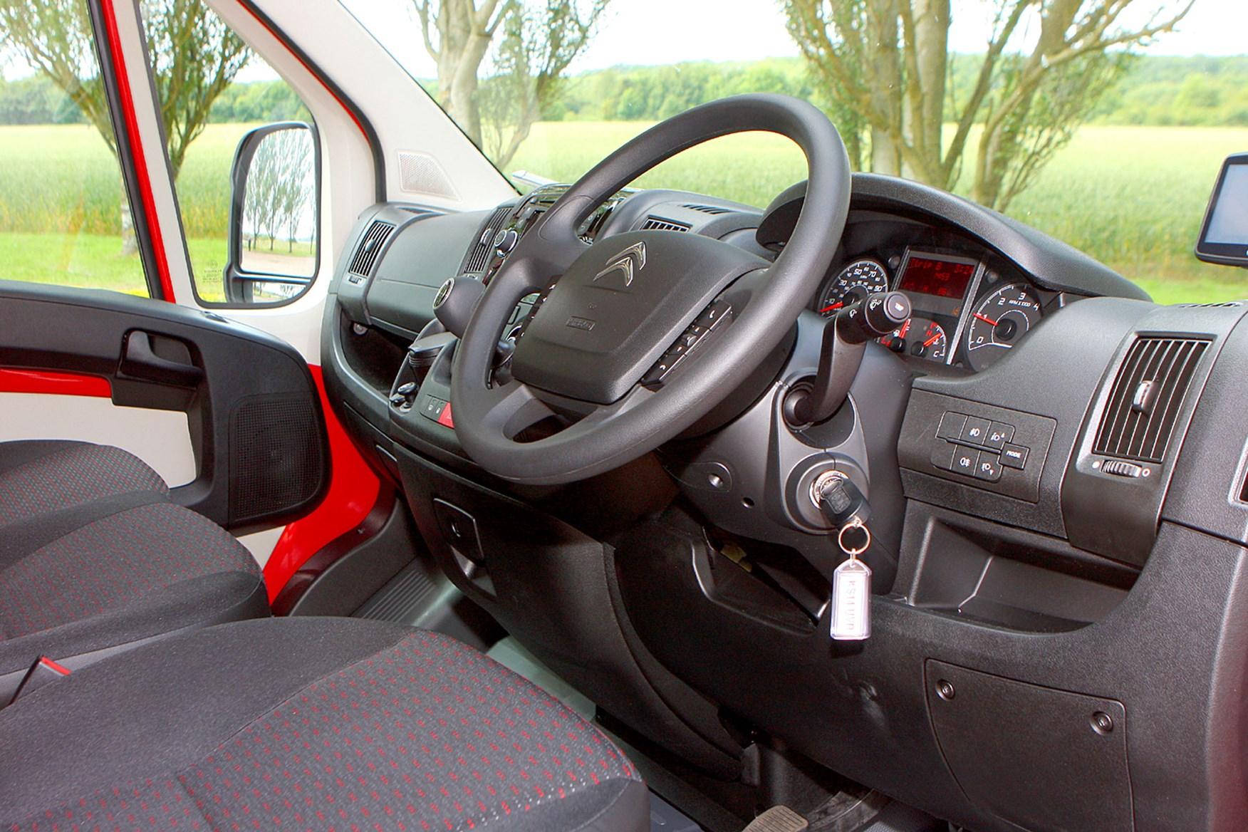 Citroen Relay 2.2 HDi 130 review - cab interior