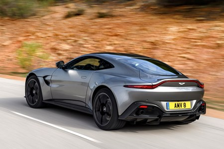 Aston Martin Vantage Early Drive Review Parkers