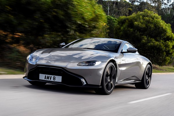 Aston Martin Vantage Early Drive Review Parkers - Aston martin vantage review
