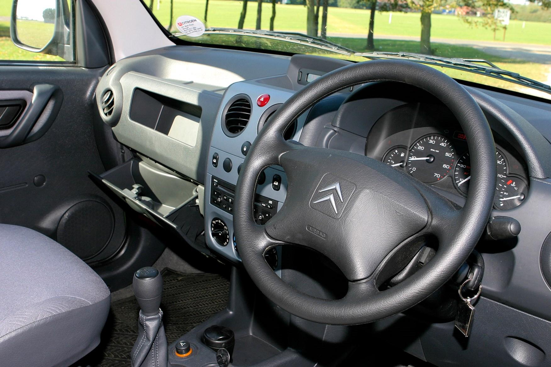 2002-2008 Citroen Berlingo review on Parkers Vans - interior