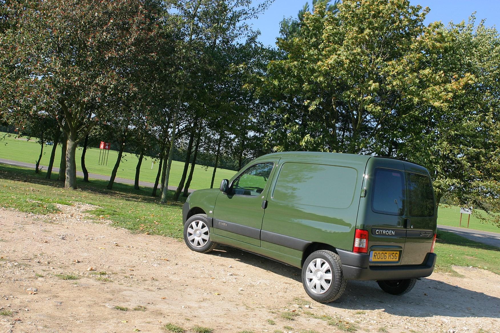 2002-2008 Citroen Berlingo review on Parkers Vans - rear