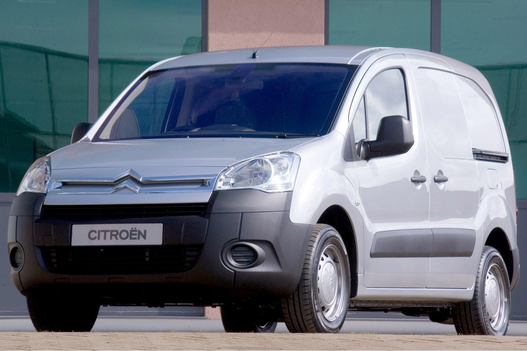 Citroen Berlingo full review on Parkers Vans - front