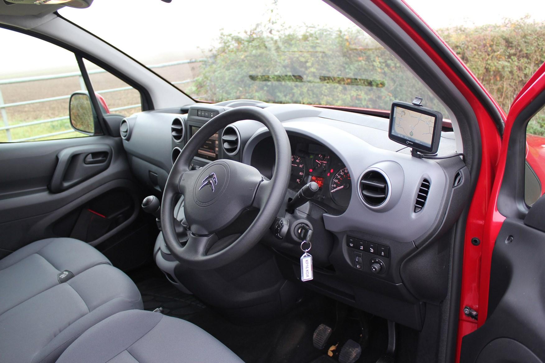 Citroen Berlingo full review on Parkers Vans - interior