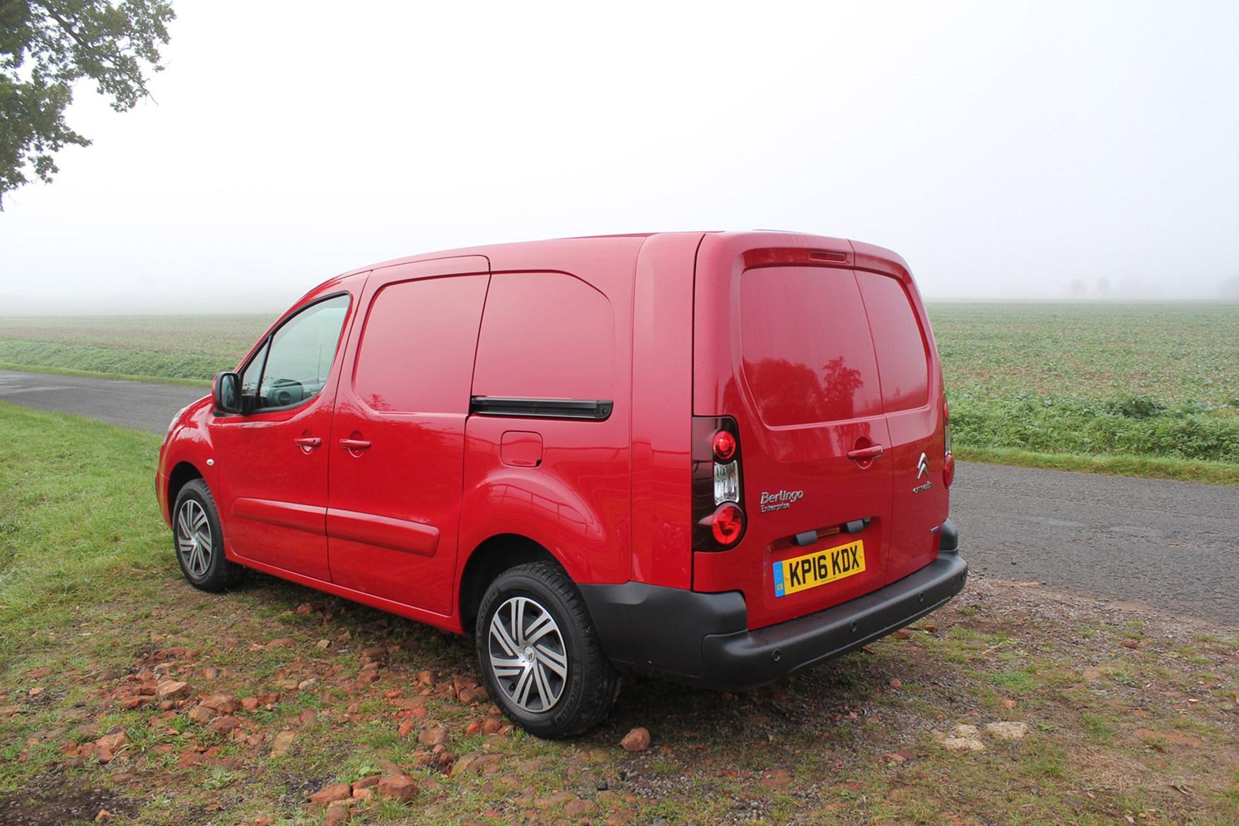 Citroen Berlingo full review on Parkers Vans - rear