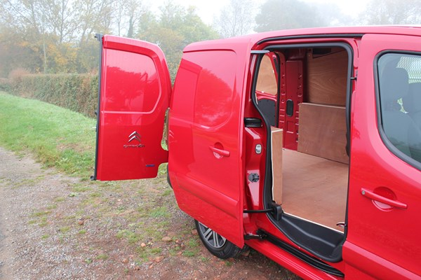 Citroen Berlingo Van Dimensions 2008 On Capacity Payload Volume