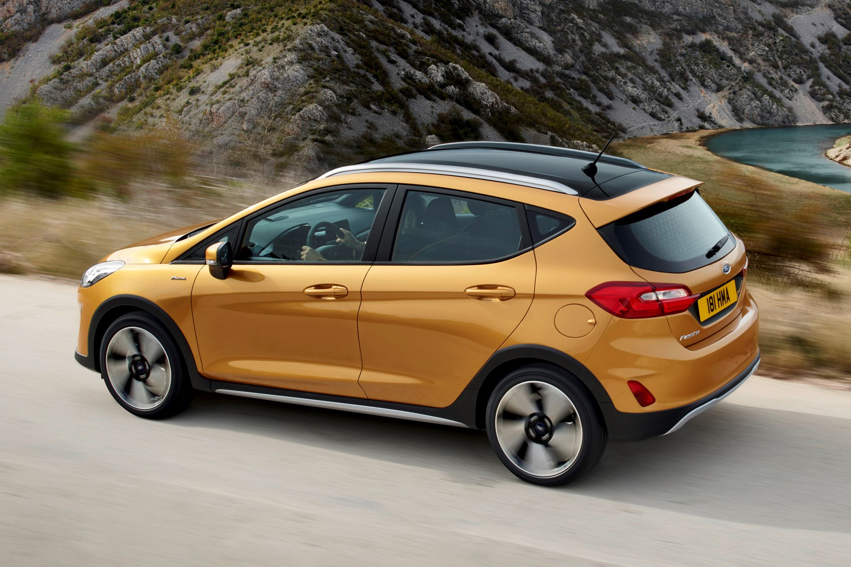 suv look ford fiesta active why petrol makes sense parkers. Black Bedroom Furniture Sets. Home Design Ideas