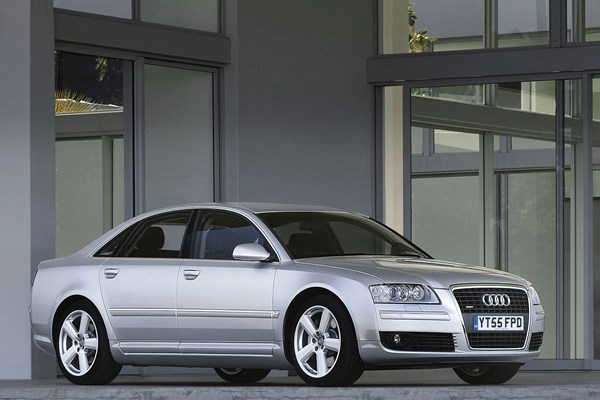 Audi A8 - one of the best used luxury cars you'll find for £5,000