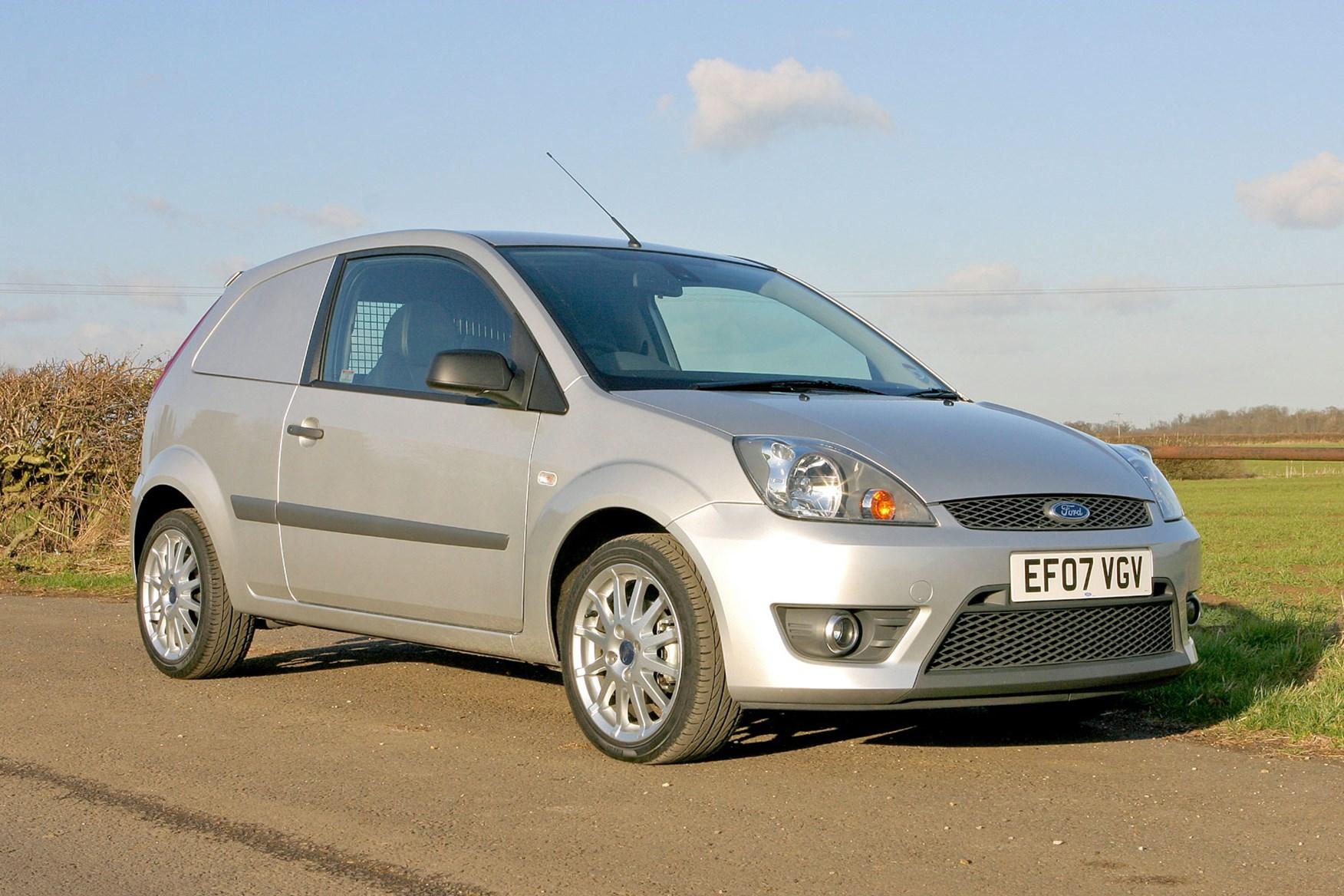 Ford Fiesta Van (2003-2009) driving experience