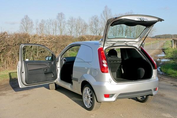 Ford Fiesta Van Dimensions 2003 2008 Capacity Payload Volume