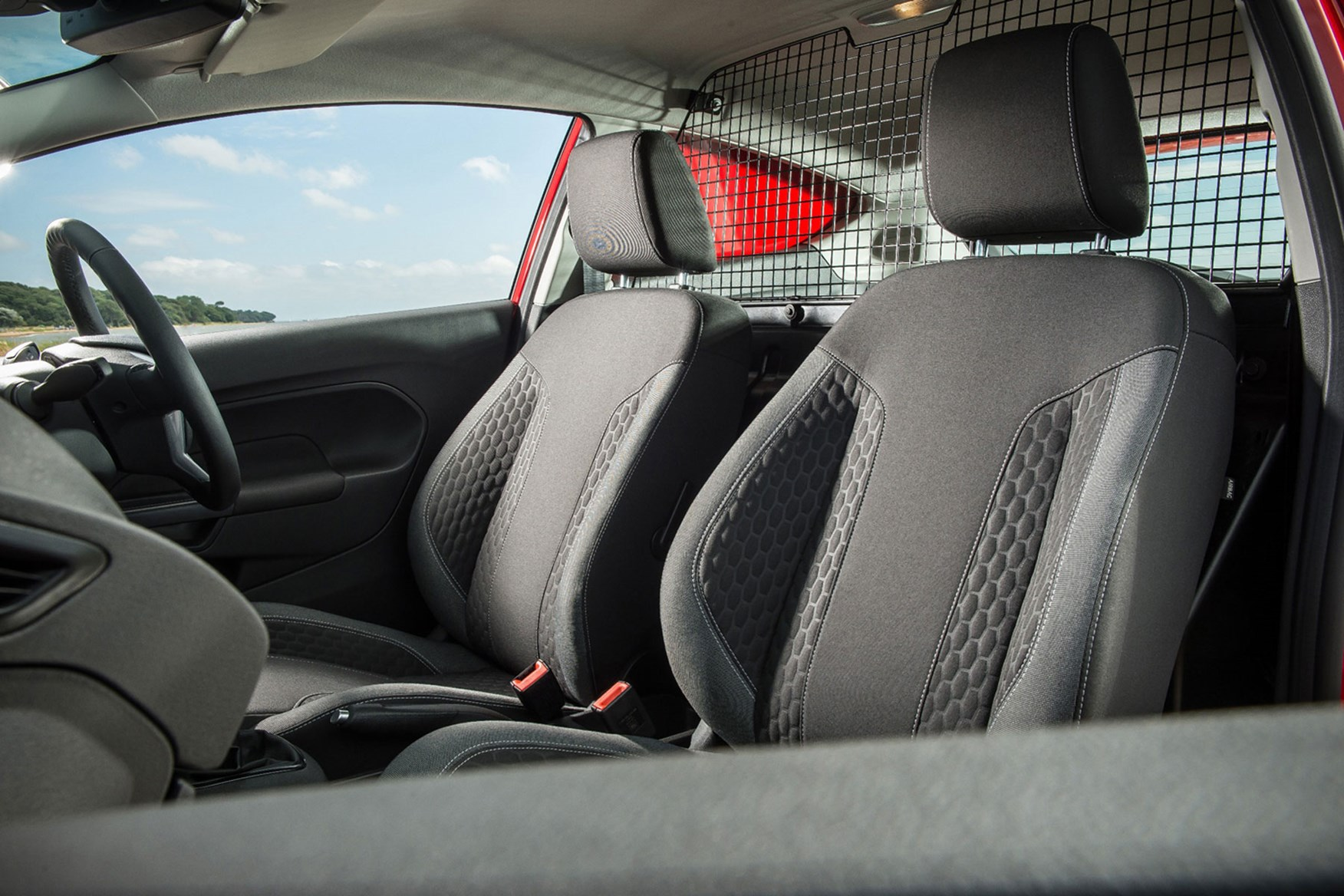 Ford Fiesta Van (2009-2017) seats