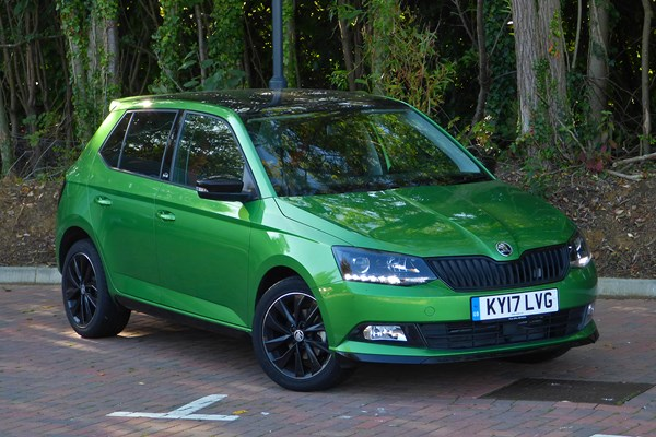 which skoda fabia is best as a company car parkers. Black Bedroom Furniture Sets. Home Design Ideas