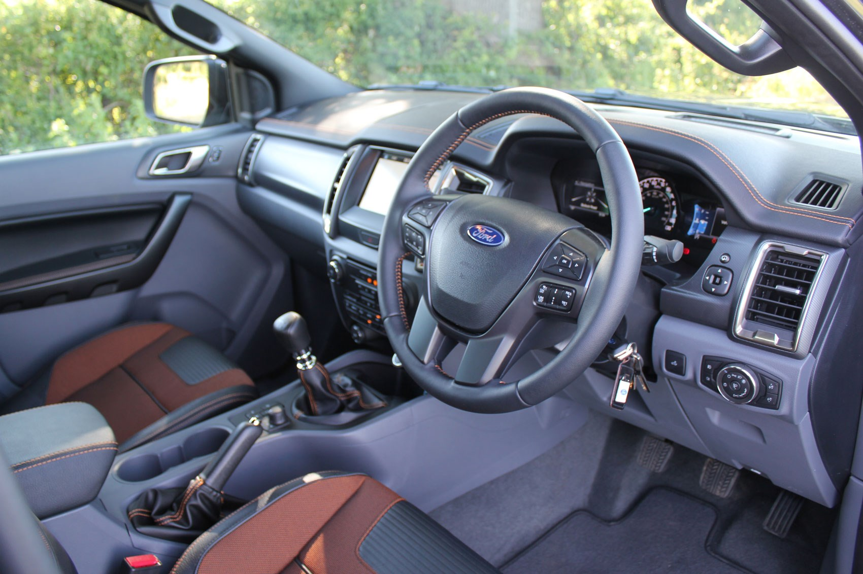 Ford Ranger Wildtrak Euro 6 review - cab interior