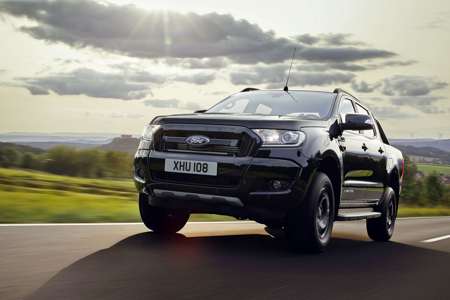 Ford Ranger Black Edition review - driving