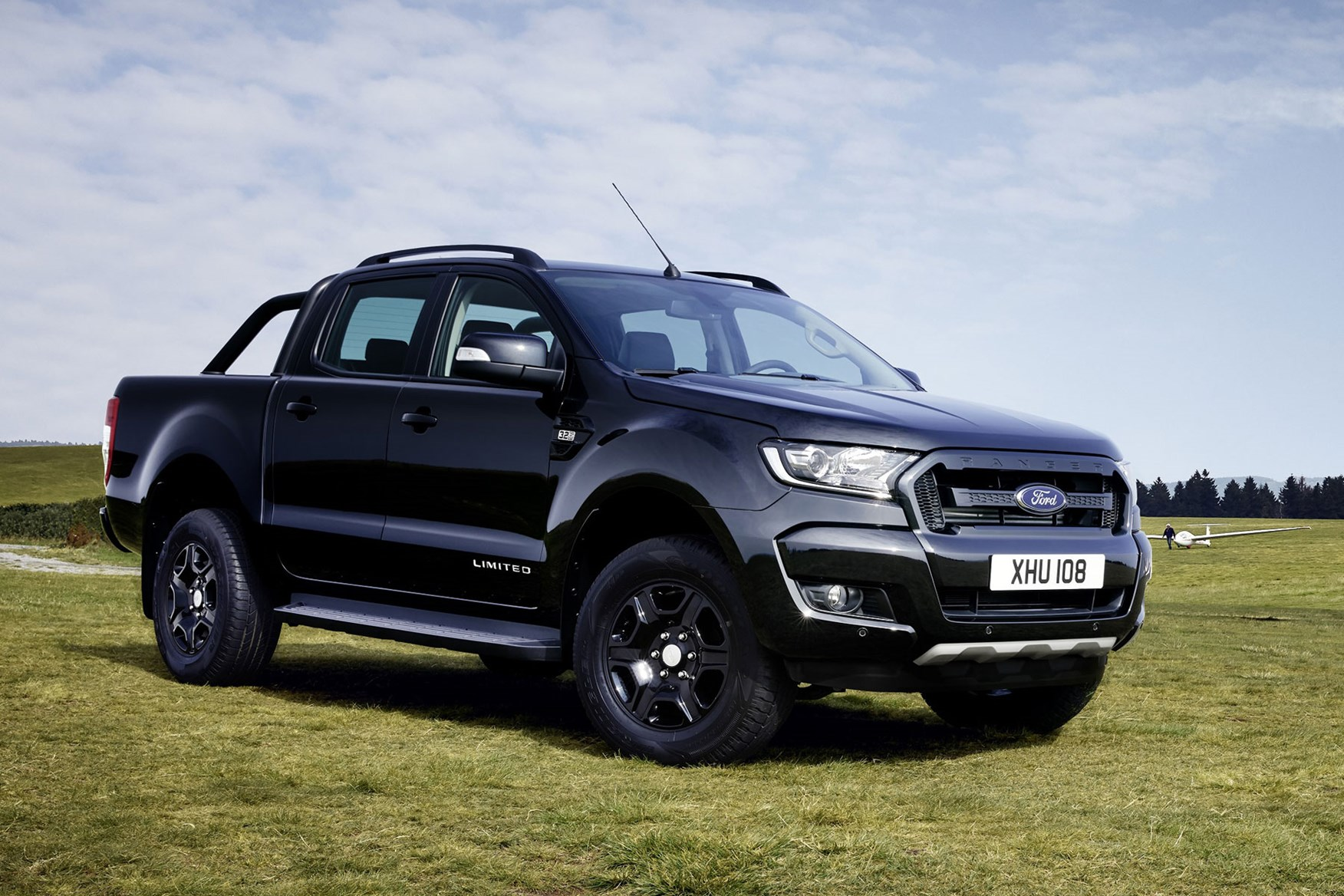 Ford Ranger Black Edition review - front view