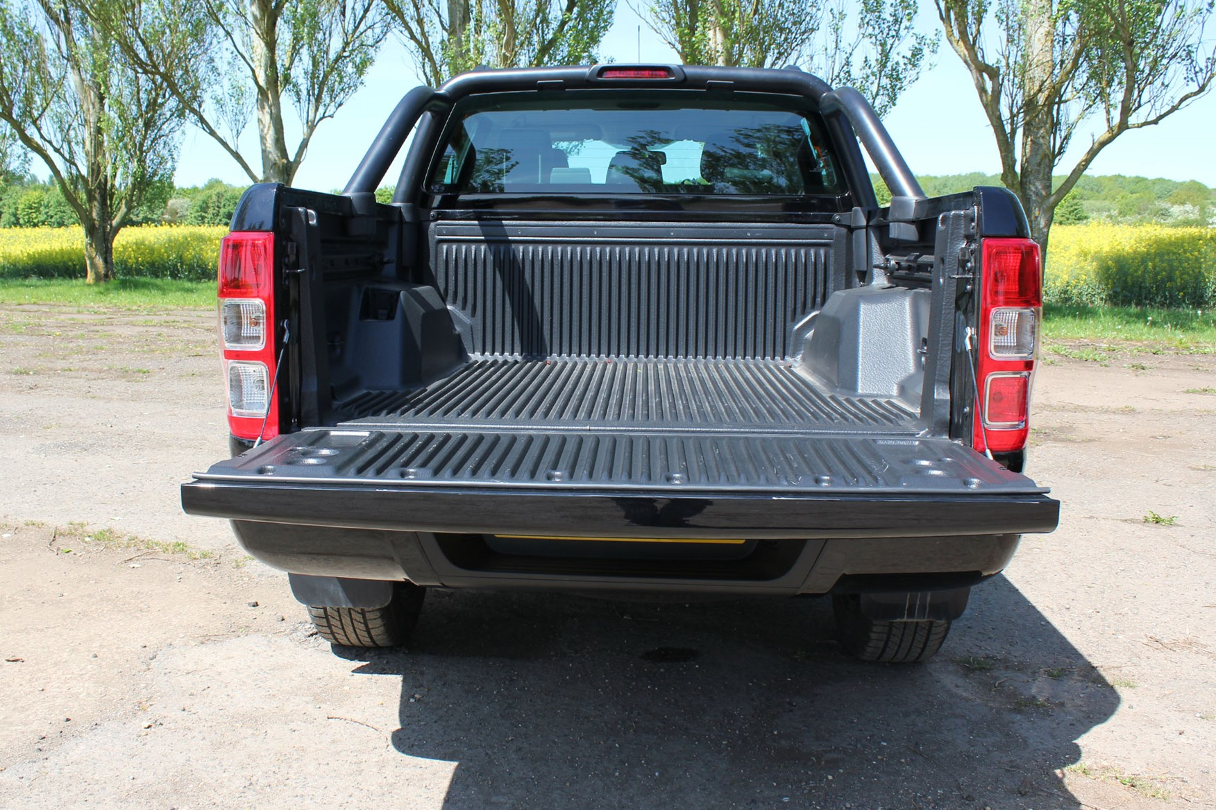 Ford Ranger Black Edition review - load bed area