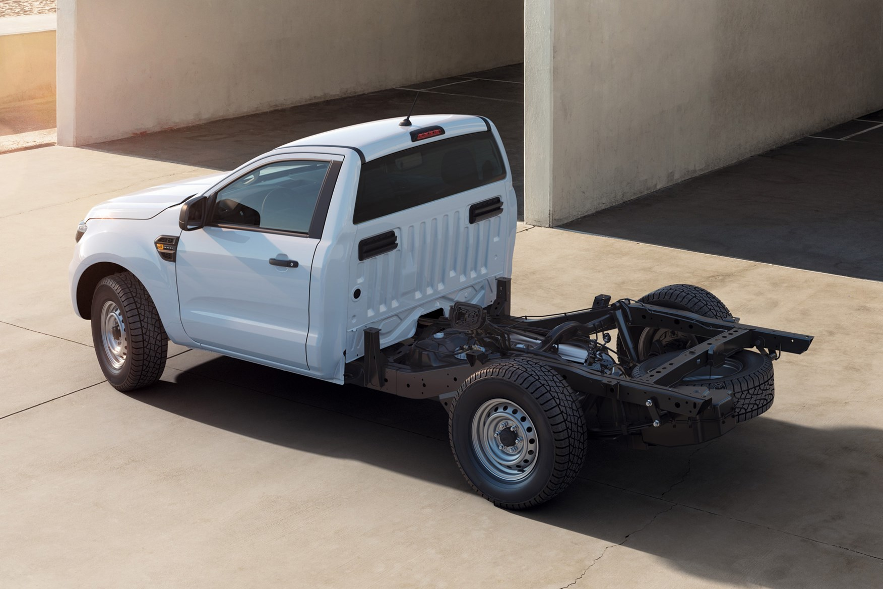 Ford Ranger chassis cab