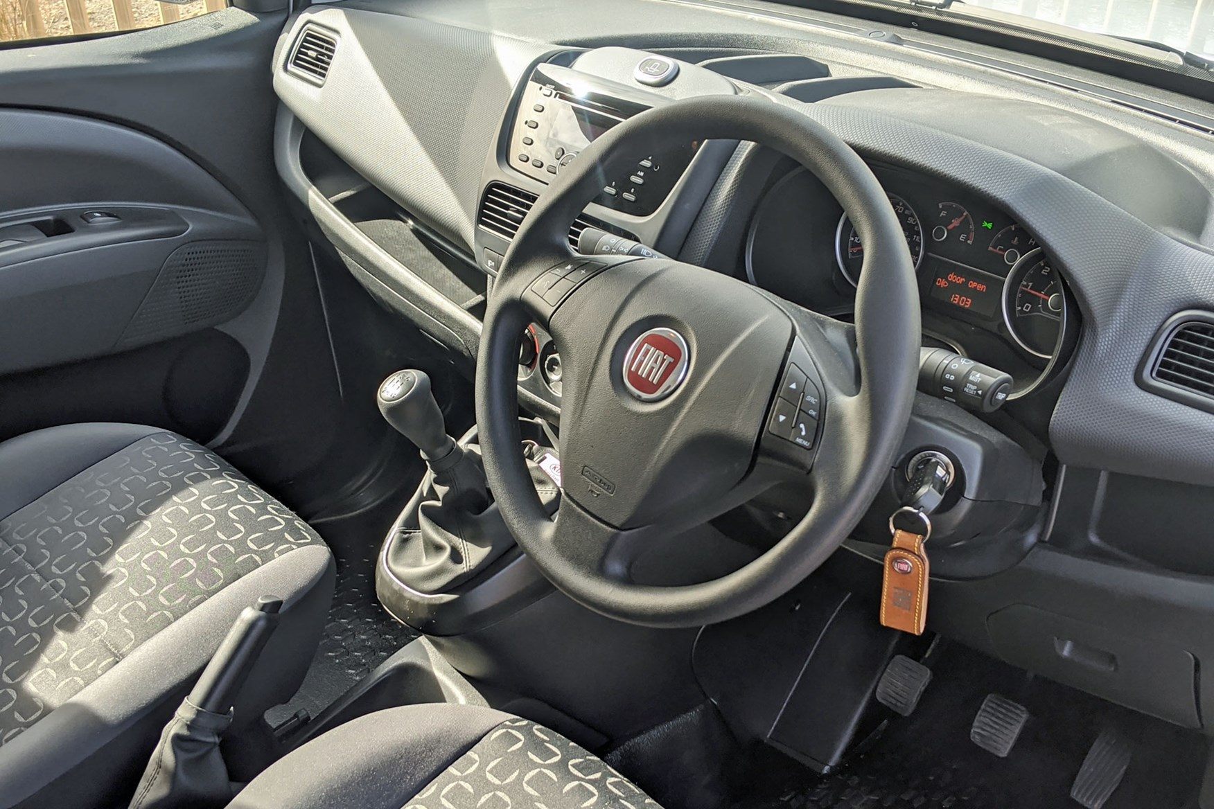 Fiat Doblo review - cab interior, 2020