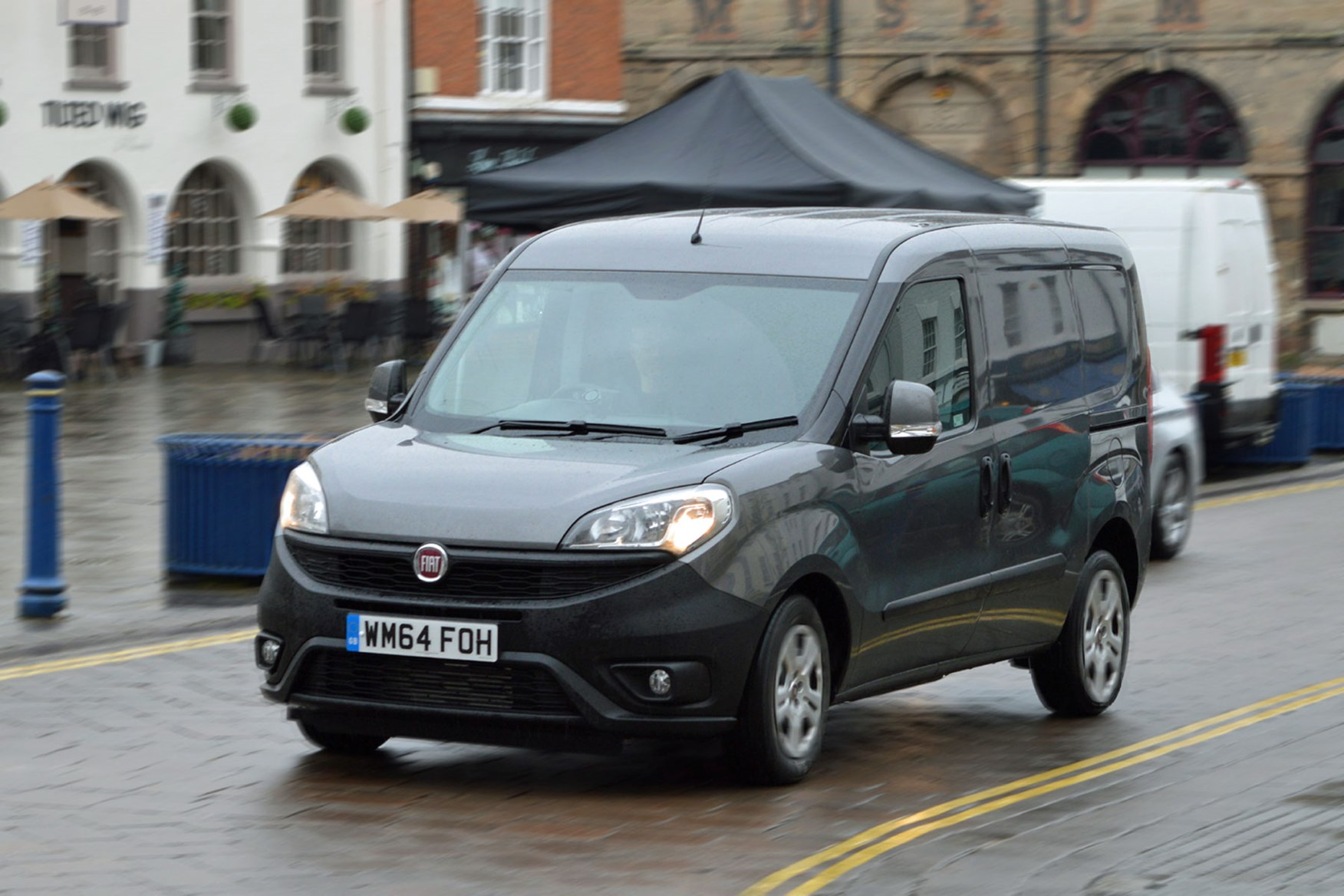 Fiat Doblo review - 1.3-litre Multijet, 2015 facelift, front view, grey