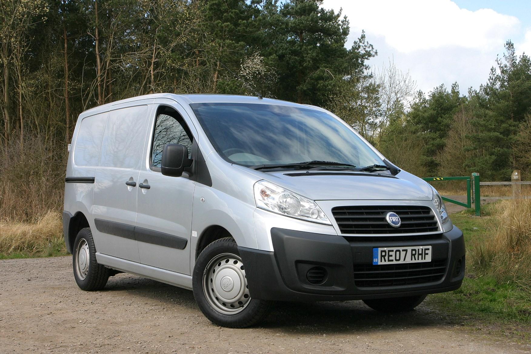 Fiat Scudo 2007-2016 review on Parkers Vans - front