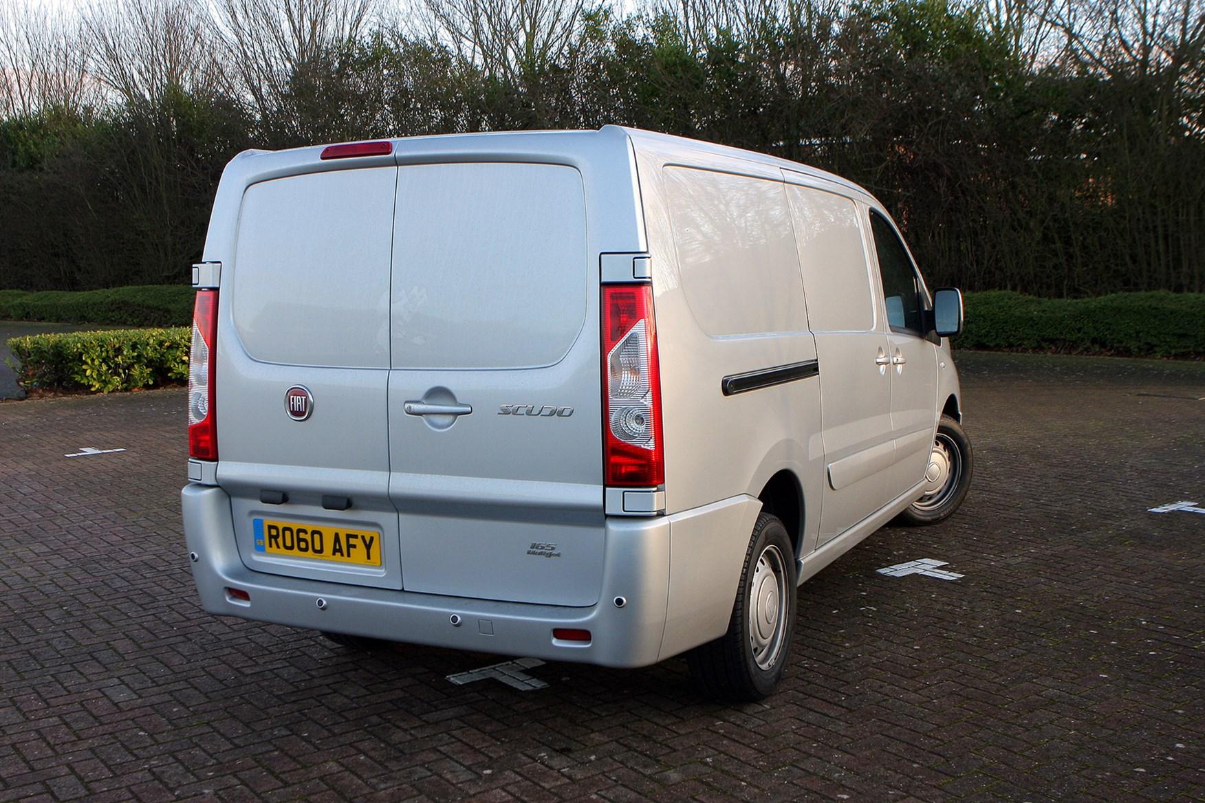 Fiat Scudo 2007-2016 review on Parkers Vans - rear