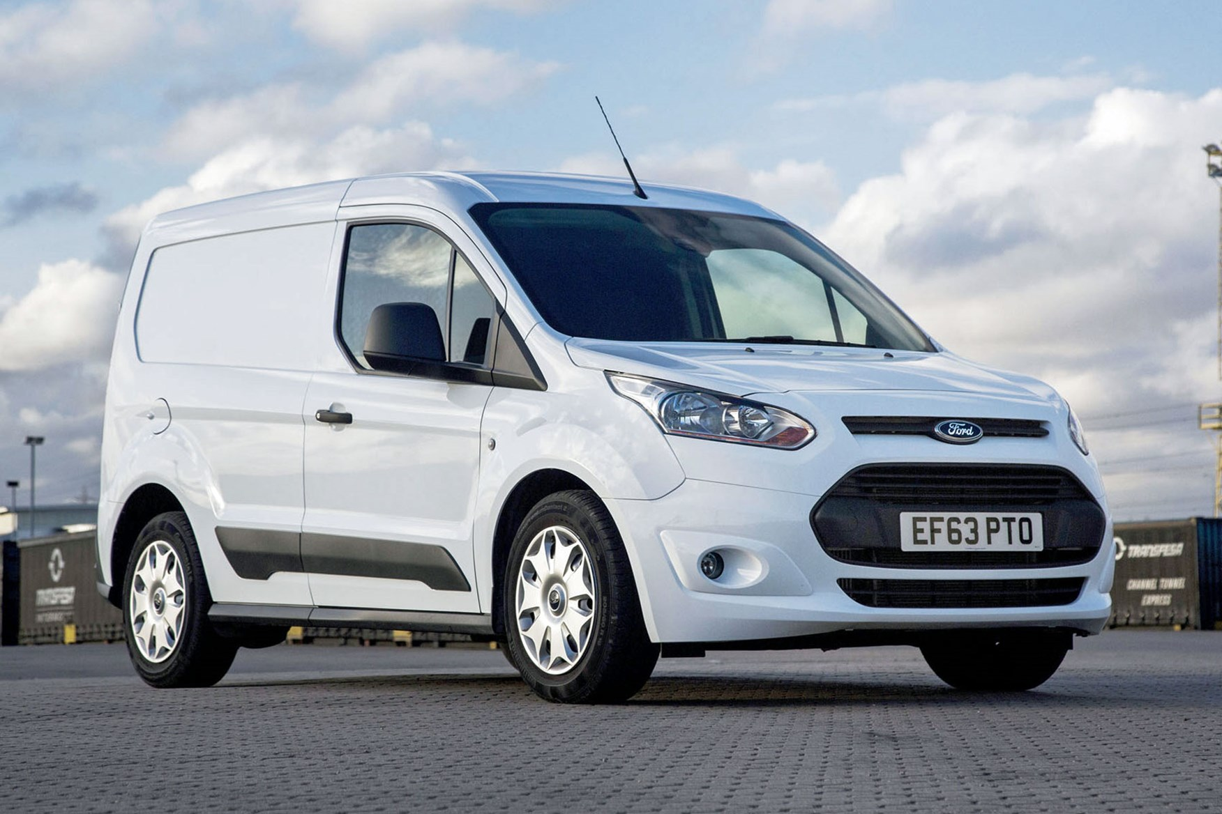 Ford Transit Connect review - 2013 L1 short-wheelbase, front view, white