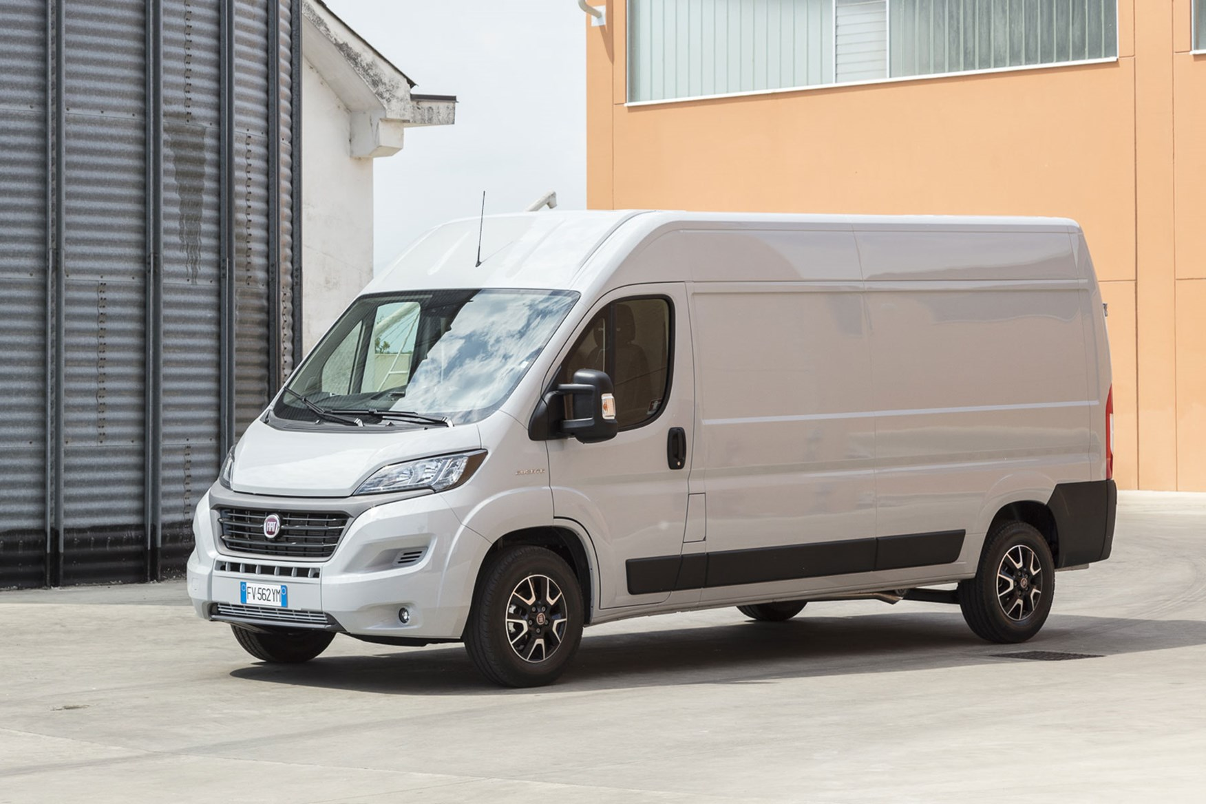Fiat Ducato review - 2019 MY20, silver, front side view