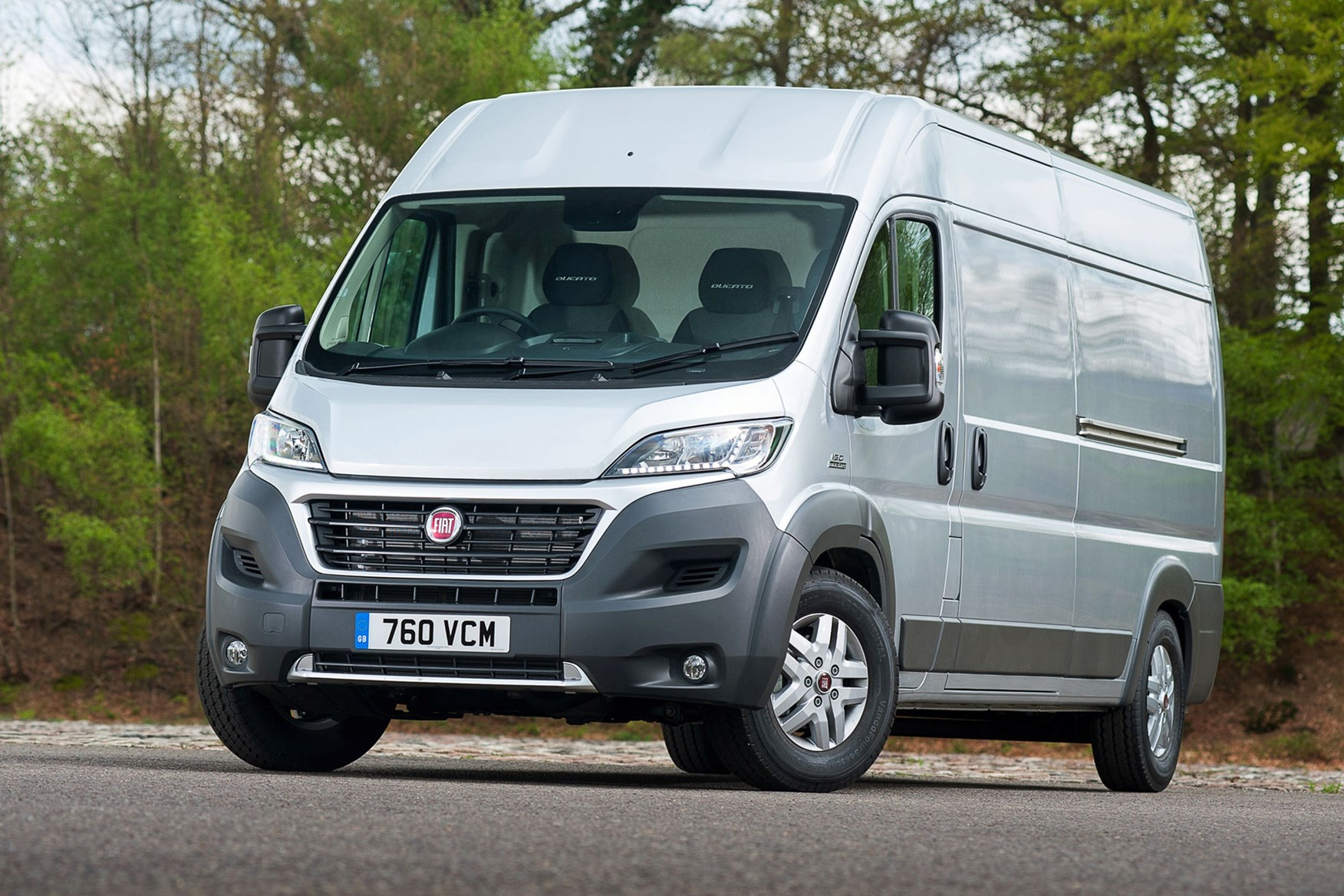 Fiat Ducato review - 2014 facelift, front view, silver