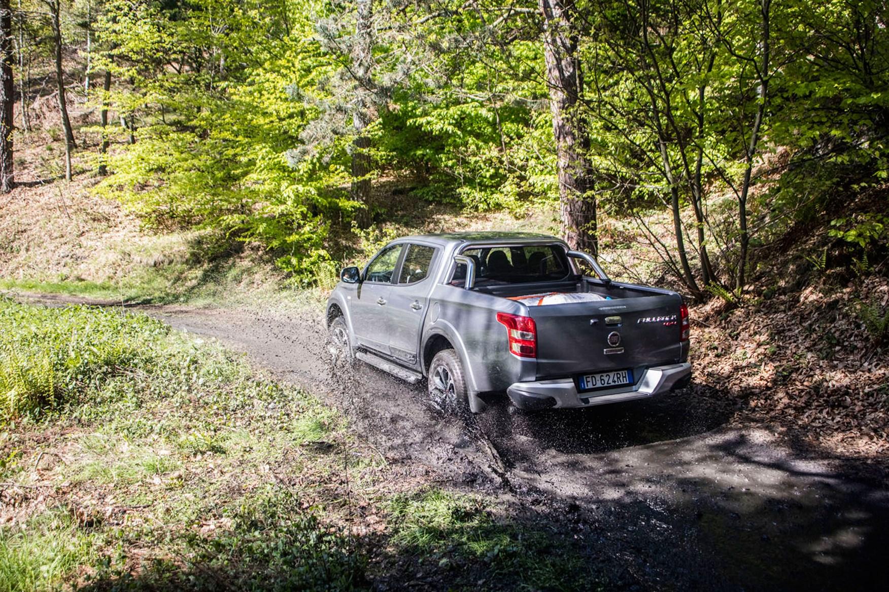 Fiat Fullback full review on Parkers Vans - off roading