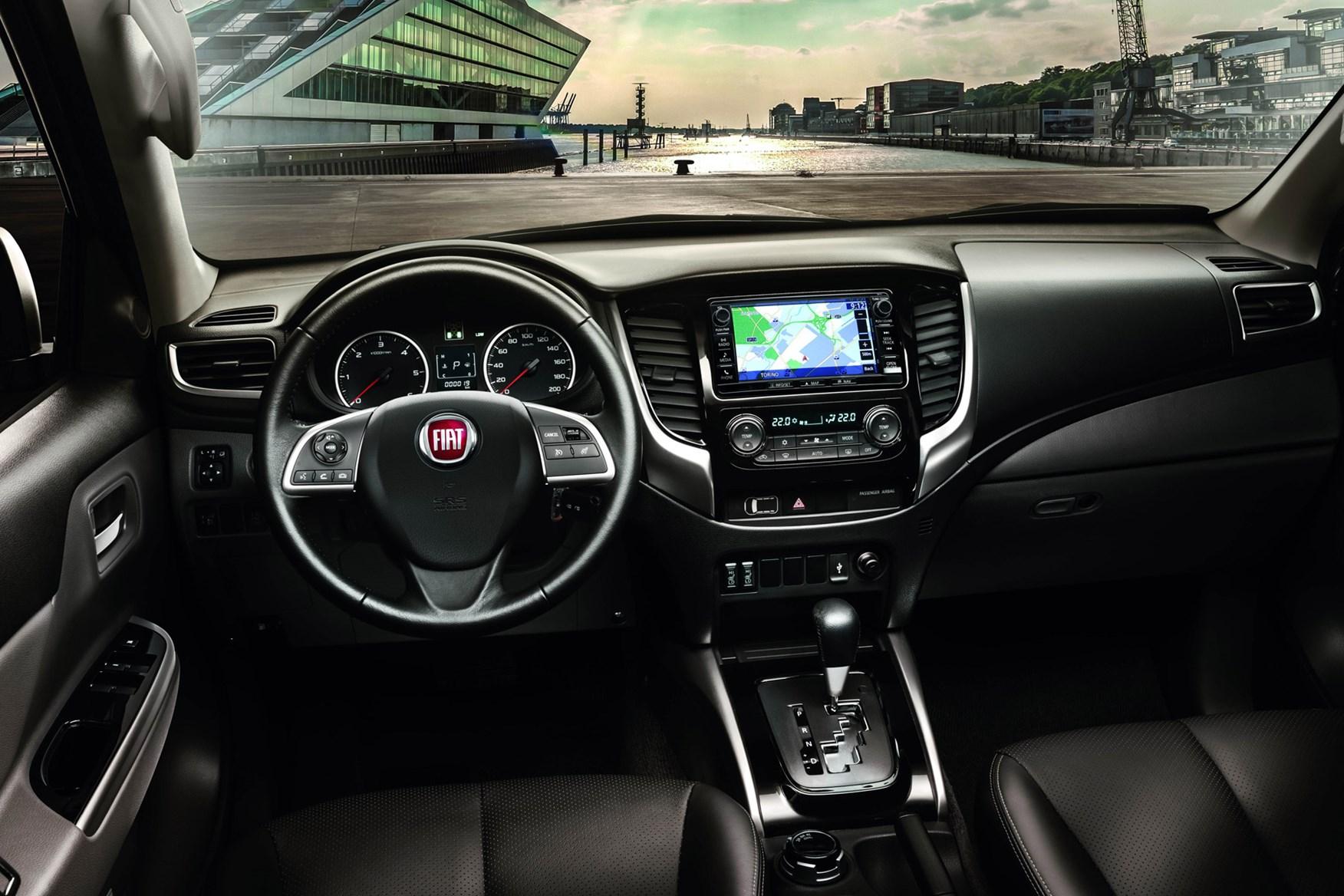 Fiat Fullback full review on Parkers Vans - interior
