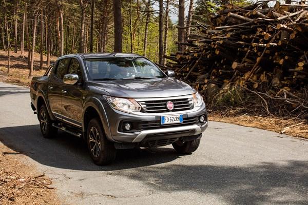 Fiat Fullback full review on Parkers Vans - exterior